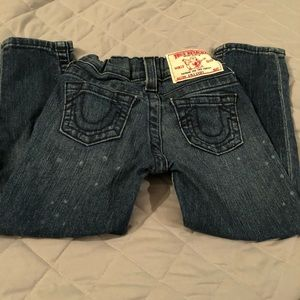 Girls true religion jeans